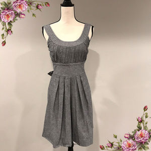 100% cotton Maurices grey dress.